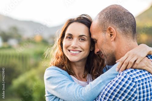 Fototapeta Mature romantic couple obraz