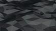 Абстрактный фон из полигонов темный