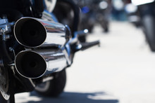 Motorcycle Rear Exhaust Pipes ...