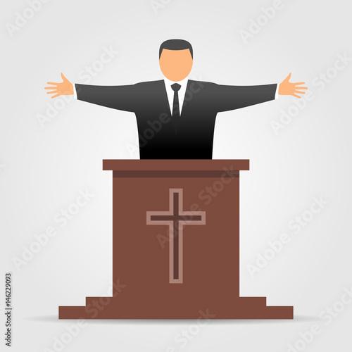 Fotografia, Obraz Preacher icon