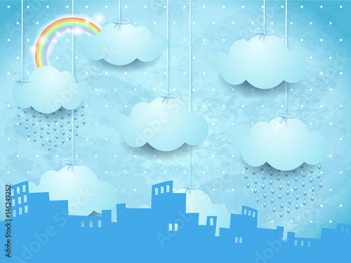 surrealistyczny-krajobraz-z-panorama-i-deszczem
