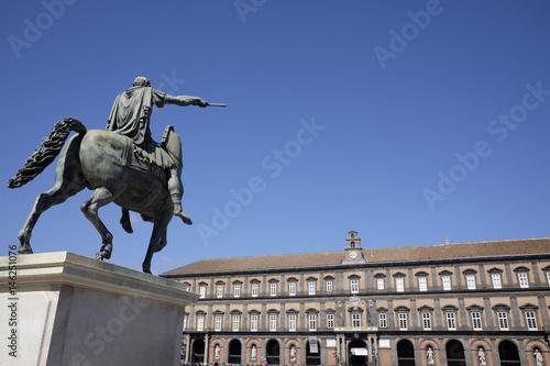 Fotografia, Obraz  Plebiscite square naples