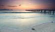 Sonnenaufgang an der Küste