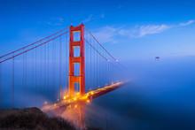 Golden Gate Bridge & Clouds