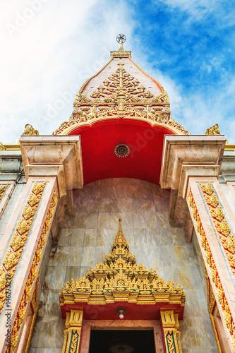 Храмовый комплекс Ват Чалонг в Пхукете, Таиланд.