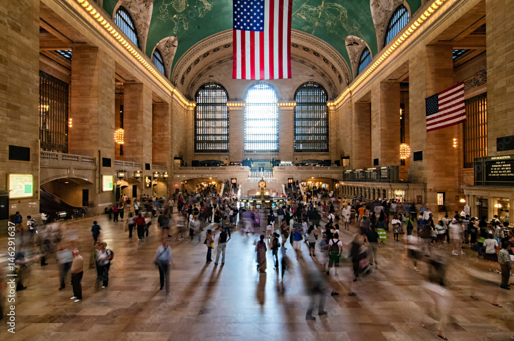Fototapety, obrazy: Grand Central Station in midtown New York City