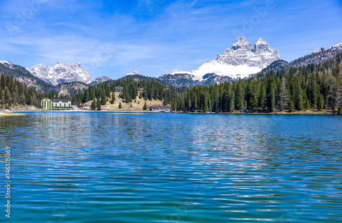 Photo Stands The picturesque landscapes of the Dolomites area