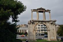 Antikt Tempel, Grekland, Aten