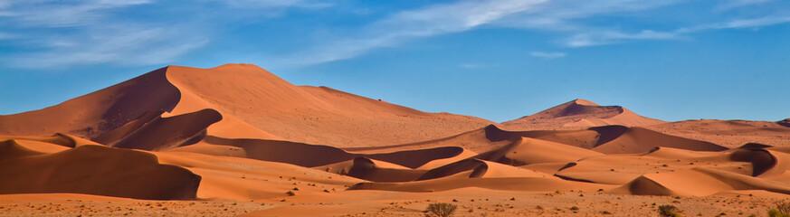 Panoramiczne wydmy Sossus, Namibia