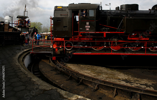 Polish steam engine is turned after the 24th Steam Engine