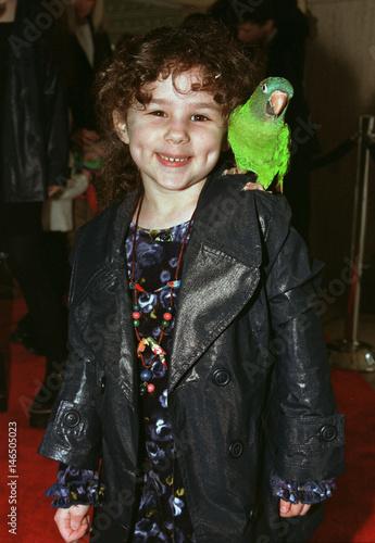 Hallie Kate Eisenberg, age 5 1/2, co-star of the new
