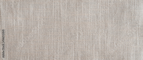 Linen Fabric Background Banner