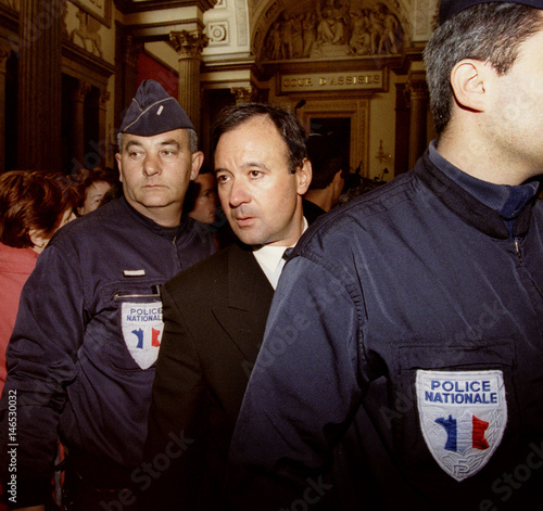 businessman marc bathier c leaves the court of lyon april 20 after