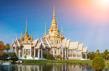 Landmark Wat Thai Temple At Wa...