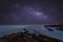 Milky Way Galaxy With Beautifu...