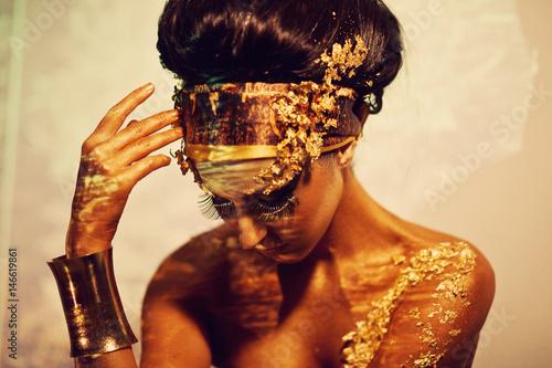 Fotografia, Obraz Woman as Goddess Isis