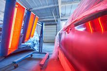 Auto Body Repair. Infrared Lam...