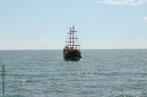 Яхта на море © dfk_58