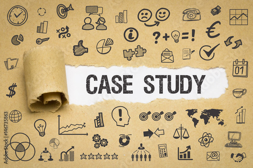 Fotografie, Obraz  Case Study / Papier mit Symbole