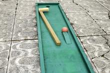Cricket Game Wood