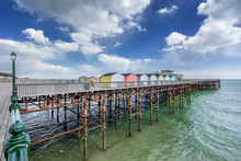 Hastings Pier In Sussex On The...