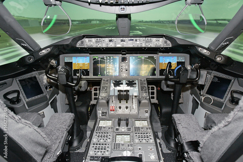 Boeing 787 Dreamliner Engineering flight deck simulator is