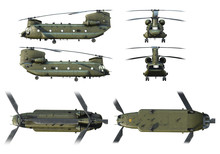 3D Renders Of Army Helicopter ...