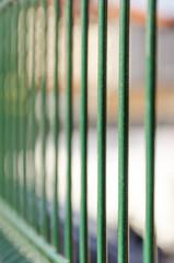 Jail fence metal bars