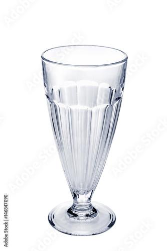 Papiers peints Eau Empty faceted coffee cocktail glass
