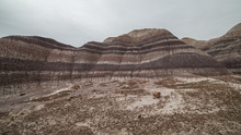 Badland Formations, Petrified ...
