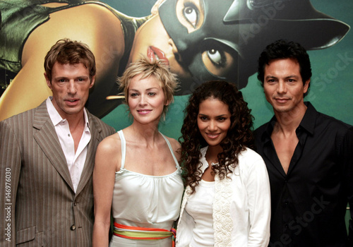 Stars Of The Film Catwoman L R Lambert Wilson Of France And Sharon