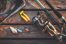 Fishing Rod And Baits