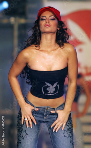 Miss Argentina Bocchio Models Takes Part In 2005 Miss Playboy Tv Latin America And Iberia Contest