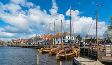 The Harbour Of The Dutch Fishi...