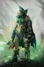 Fantasy Illustration Of Dark E...