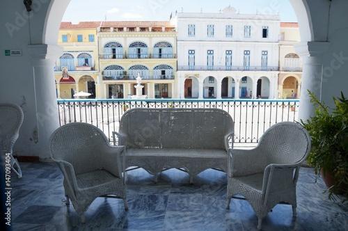 Staande foto Havana Balcony with a view, Havana