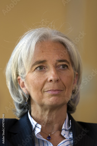 France's Finance Minister Christine Lagarde is seen during