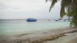 Passenger Boats Anchored near the Beach on in the Maldives