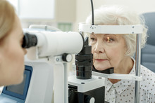 Young Female Ophthalmologist U...