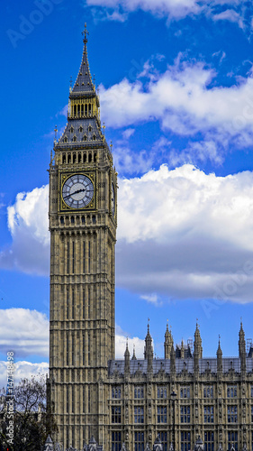 Fototapeta Great Britain, England, London, Clock Tower, Big Ben obraz na płótnie