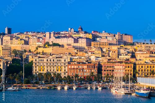 Fotografie, Obraz View of Cagliari, Sardinia, Italy.