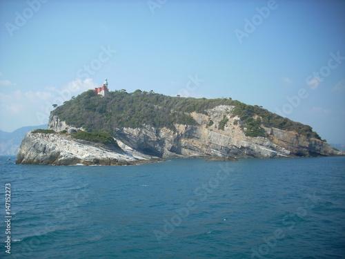 Foto op Plexiglas Groen blauw Landscape of Portovenere