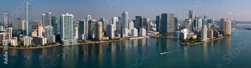 Plakat Downtown Miami Panoramic