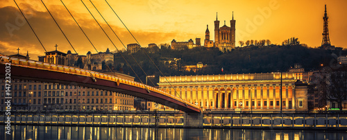 view-of-saone-river-at-sunset