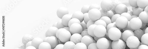 Fotografía Infinite sphere background, original 3d rendering