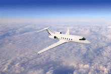 Private Business Jet Airplane ...
