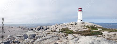 Fotomural Lighthouse Peggy's Cove Nova Scotia Canada.