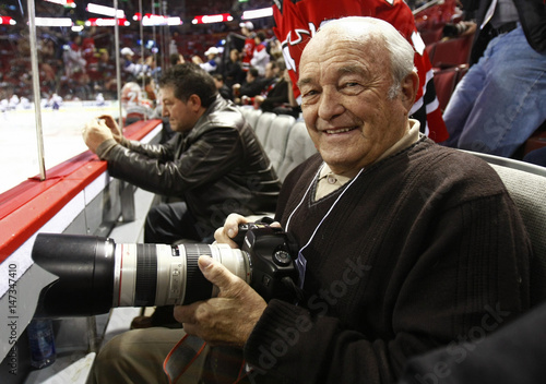Denis Brodeur Former Montreal Canadiens Team Photographer And