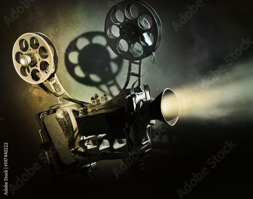 Obraz Stare kino - fototapety do salonu