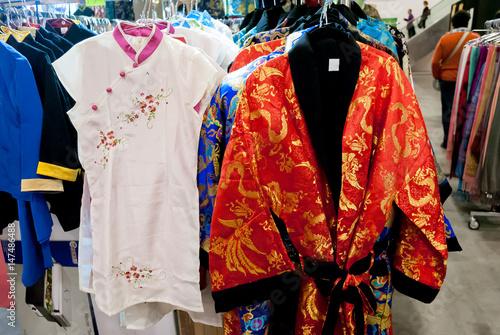 Plakat Tradycyjne stroje chińskiej kultury